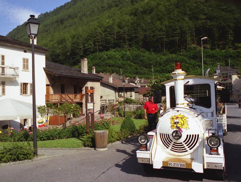 Le Baladeur - Le train touristique de Martigny sur roues