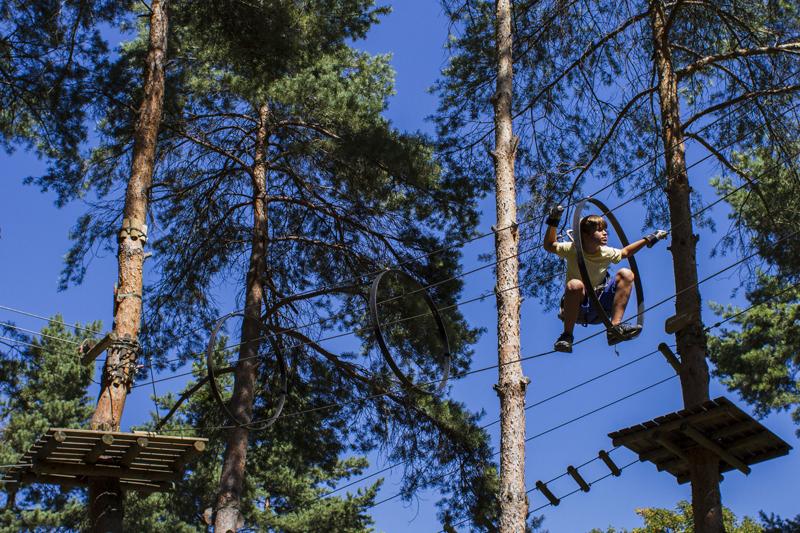 Parc Aventure in Aigle und Sion