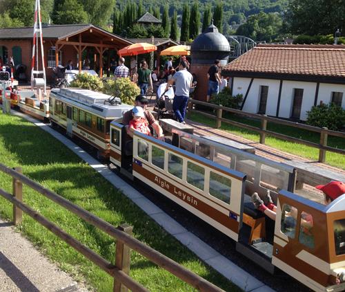 Swiss Vapeur Parc au Bouveret - parc de locomotives à vapeur