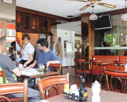 Mittagstisch Hotel Alpes&Rhone Bistro