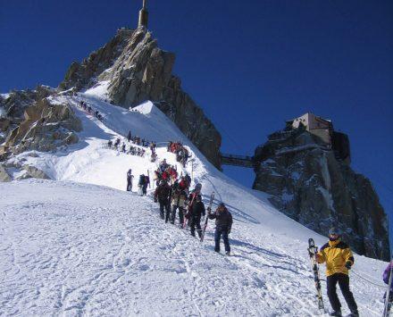 Chamonix Vallée Blanche