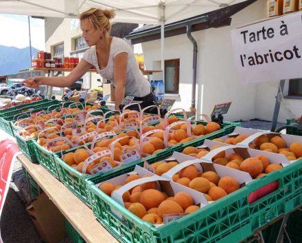 Abrikosenfest im Wallis
