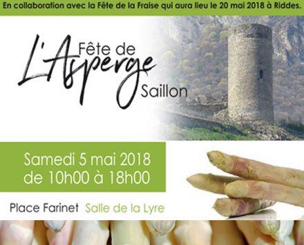 Fête de l'asperge à Saillon