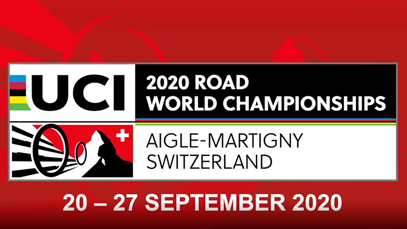 Auf den Spuren der UCI Road World Championships Martigny 2020